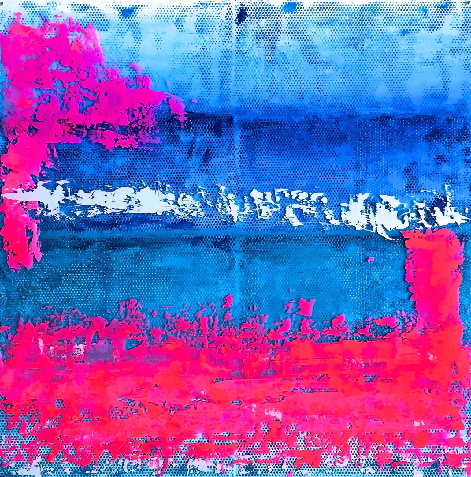 Blaues Wasser PINK 2 90 grad links